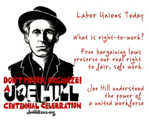 Labor unions today right to work