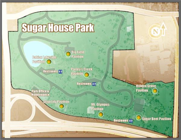 Sugarhouse Park Map