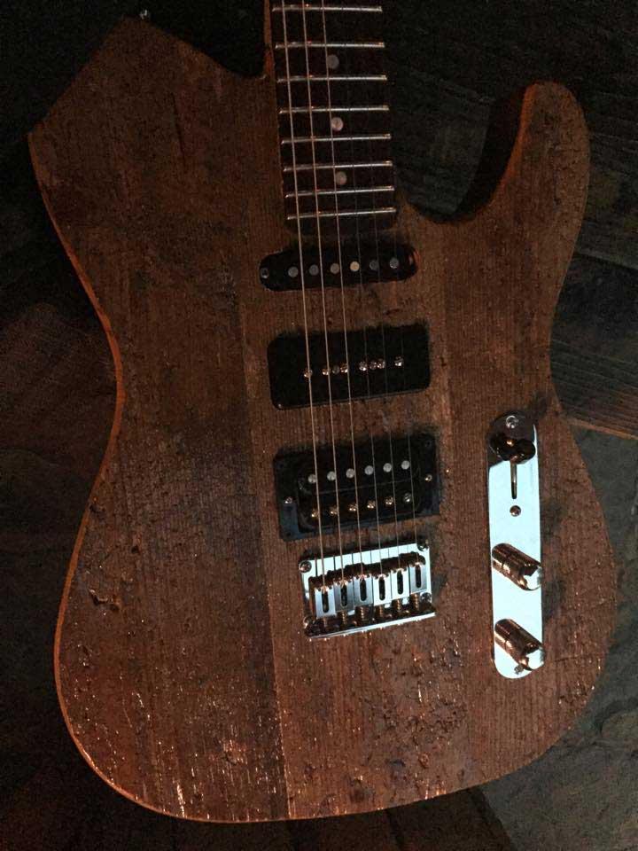 Guitar handmade by Rolf Hägglund