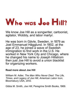 Who was Joe Hill?