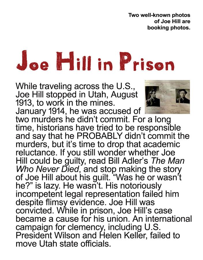 Joe Hill Biography - Joe Hill SLC