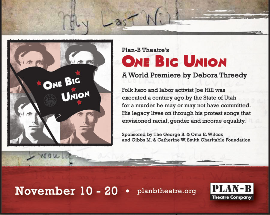 One Big Union play by Debra Threedy at Plan-B Theatre